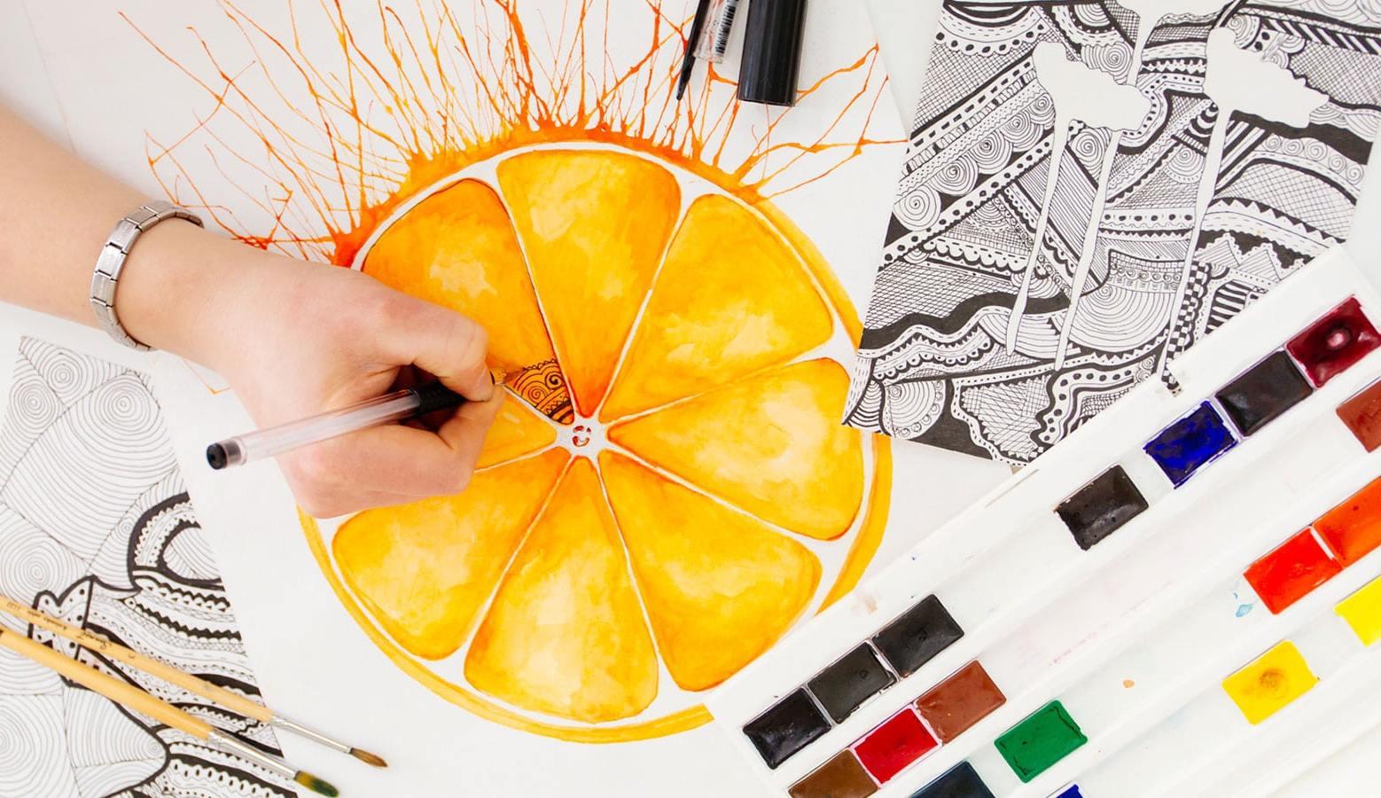 Стартує арт-курс (малювання, дизайн) для дітей
